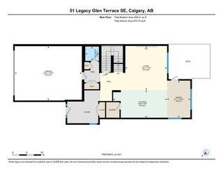 Photo 40: 51 Legacy Glen Terrace SE in Calgary: Legacy Detached for sale : MLS®# A1128087