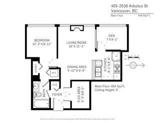 """Photo 19: 405 2630 ARBUTUS Street in Vancouver: Kitsilano Condo for sale in """"ARBUTUS OUTLOOK NORTH"""" (Vancouver West)  : MLS®# R2110706"""