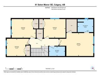 Photo 31: 81 Seton Manor SE in Calgary: Seton Detached for sale : MLS®# A1134436