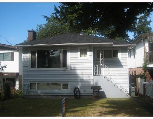 Main Photo: 5865 JOYCE Street in Vancouver: Killarney VE House for sale (Vancouver East)  : MLS®# V781284