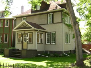 Photo 1:  in WINNIPEG: Fort Rouge / Crescentwood / Riverview Residential for sale (South Winnipeg)  : MLS®# 1012031