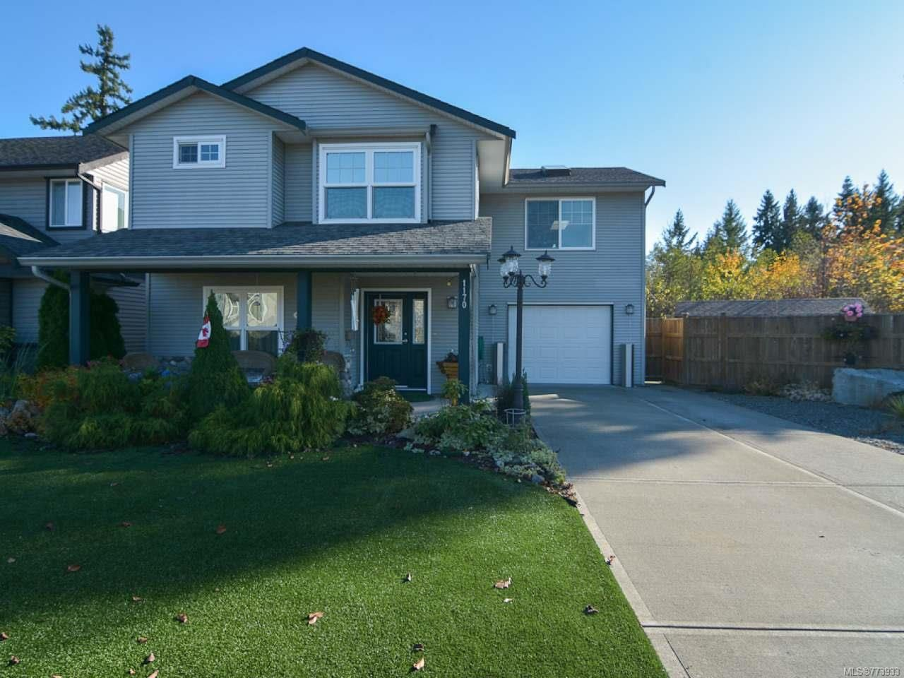 Main Photo: 1170 HORNBY PLACE in COURTENAY: CV Courtenay City House for sale (Comox Valley)  : MLS®# 773933