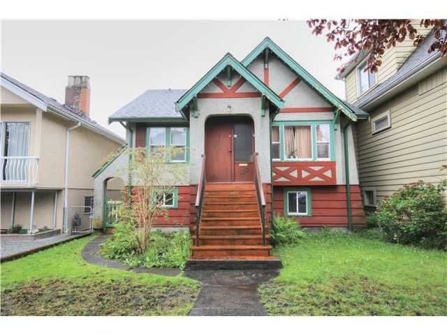 Main Photo: 2158 GRANT ST in Vancouver: Grandview VE House for sale (Vancouver East)  : MLS®# V1119051