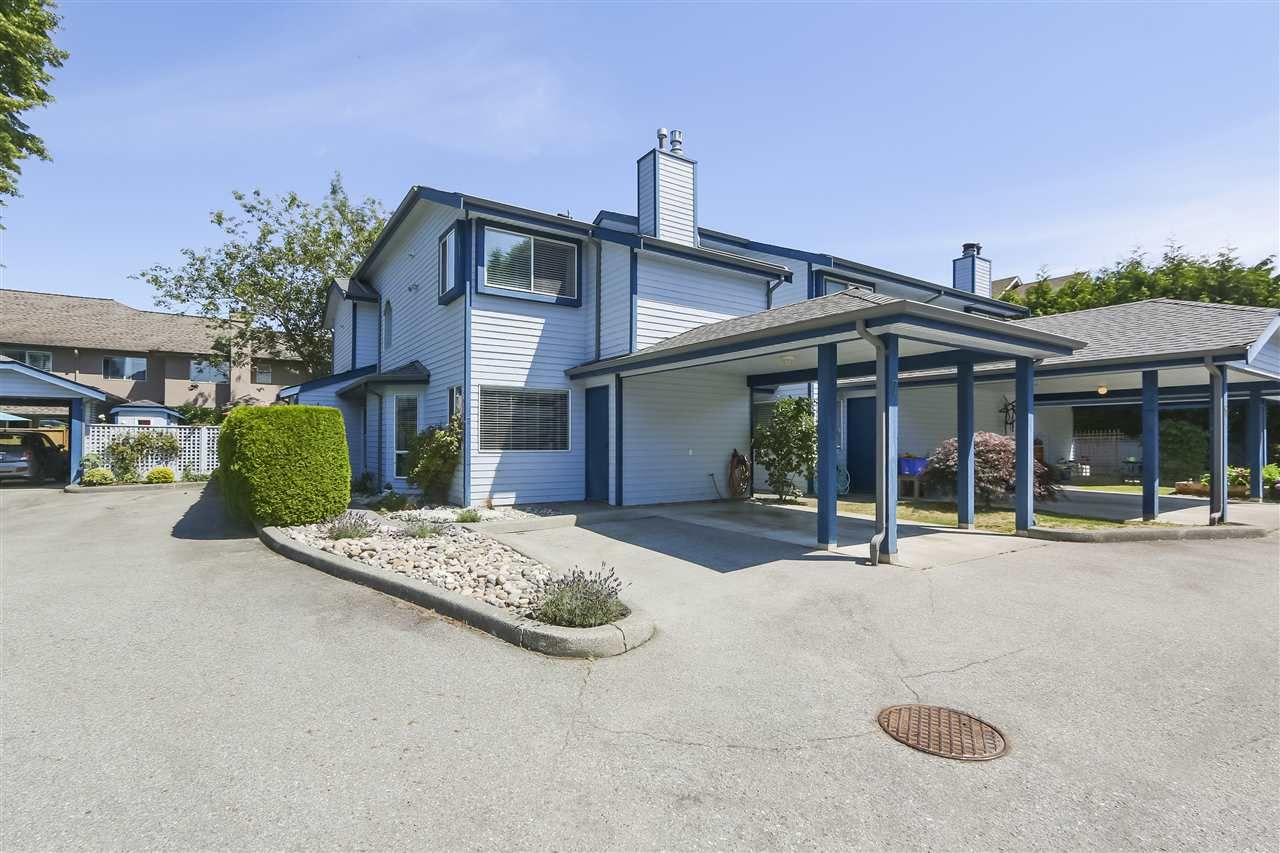 Main Photo: 7 4051 GARRY STREET in : Steveston South Townhouse for sale : MLS®# R2390262