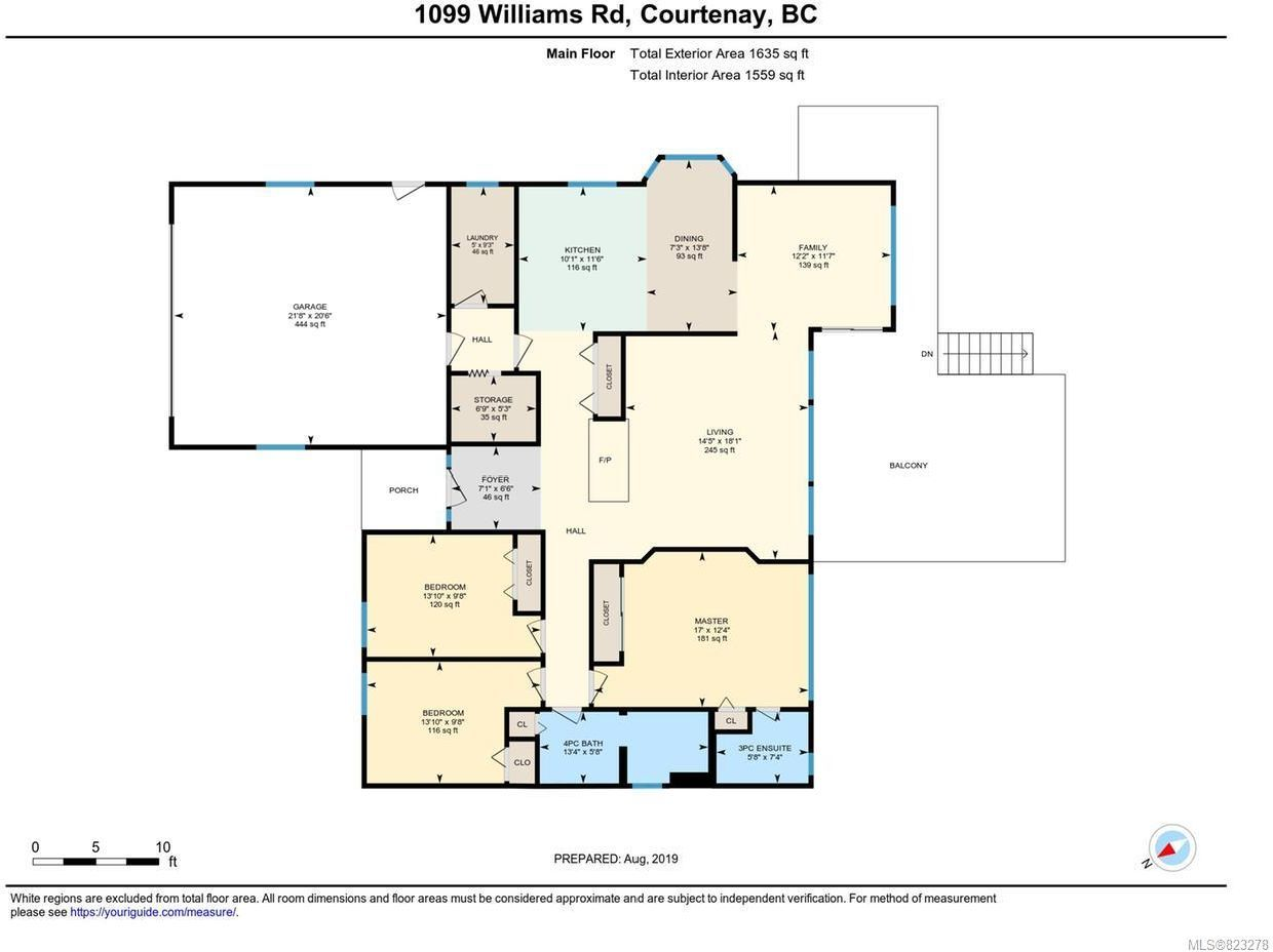 Photo 31: Photos: 1099 Williams Rd in COURTENAY: CV Courtenay East House for sale (Comox Valley)  : MLS®# 823278