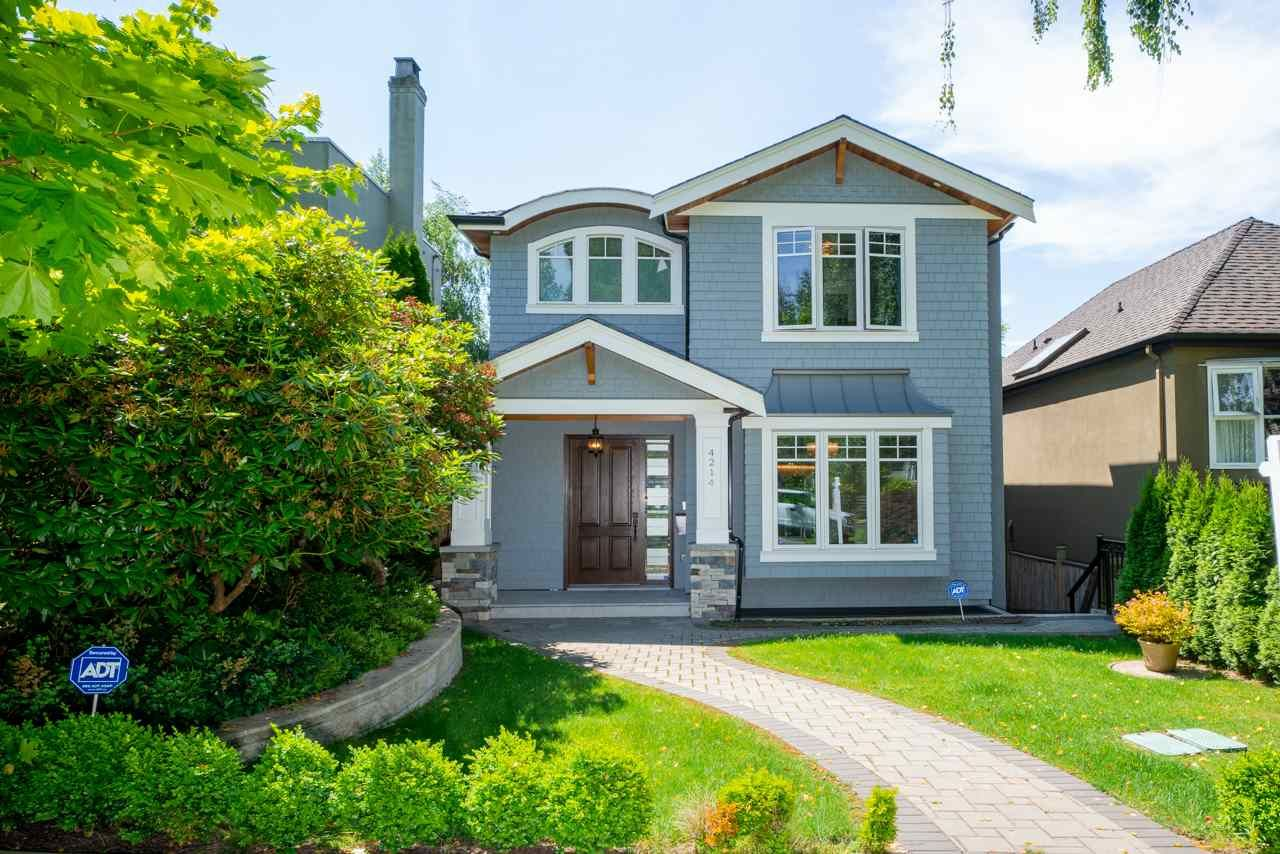 Main Photo: 4214 W 14TH AVENUE in Vancouver: Point Grey House for sale (Vancouver West)  : MLS®# R2506152