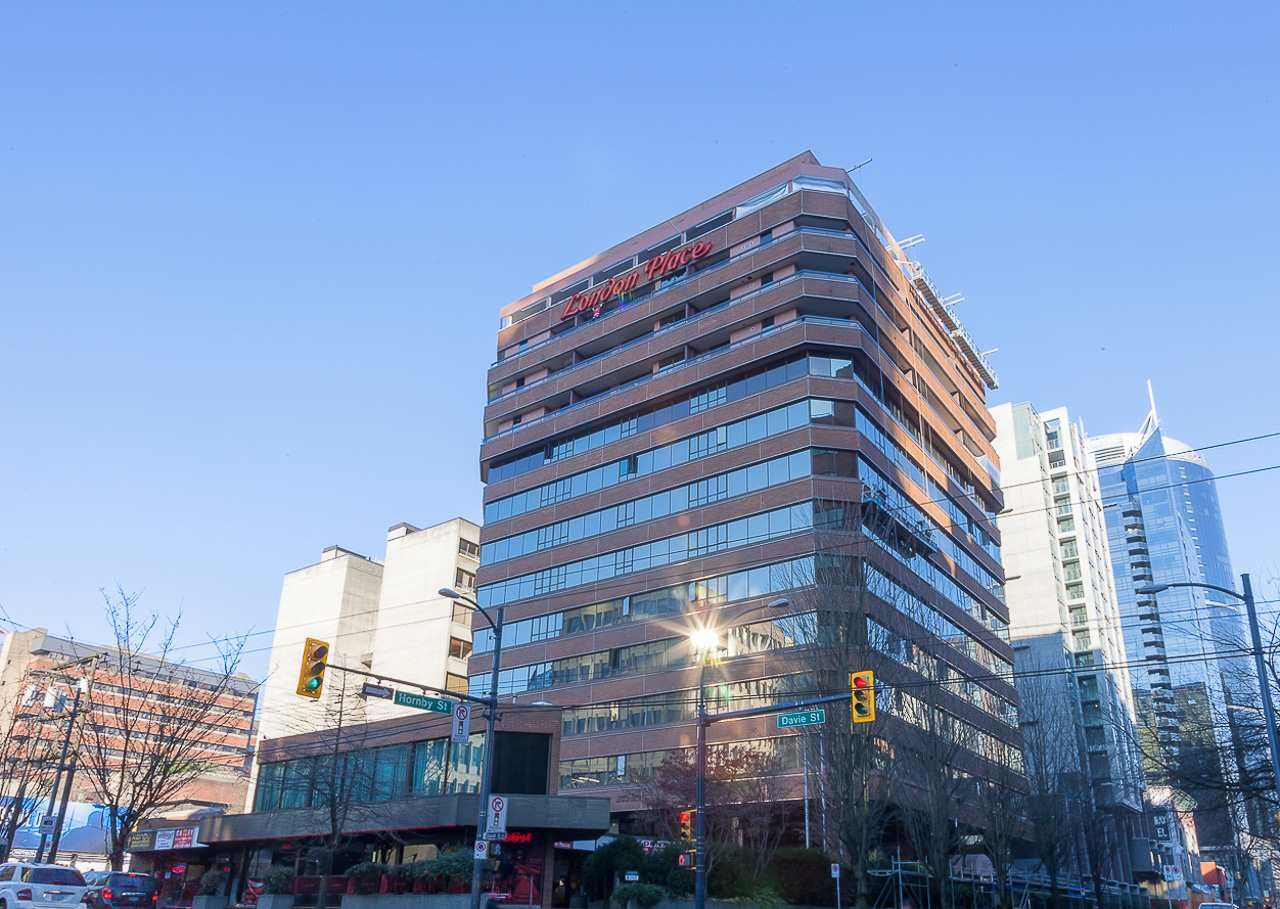 """Main Photo: 302 1177 HORNBY Street in Vancouver: Downtown VW Condo for sale in """"LONDON PLACE"""" (Vancouver West)  : MLS®# R2237119"""