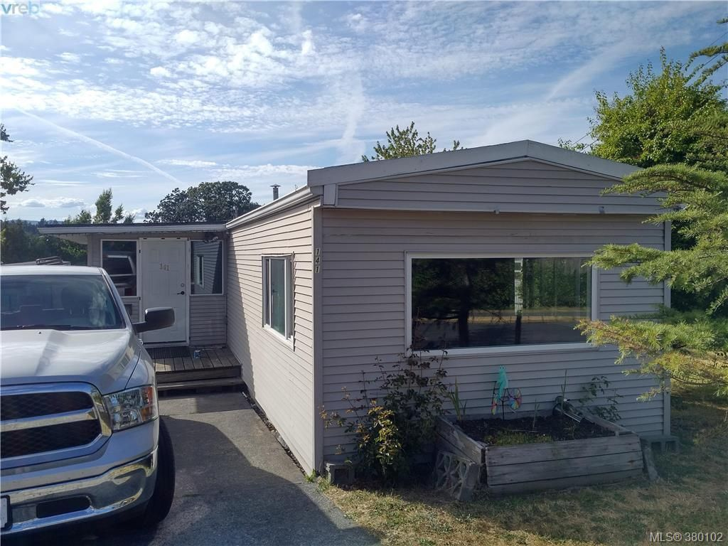 Main Photo: 141 Cooper Rd in VICTORIA: VR Glentana Manufactured Home for sale (View Royal)  : MLS®# 763536