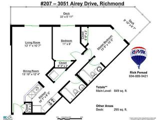 Photo 18: 207 3051 AIREY Drive in Richmond: West Cambie Condo for sale : MLS®# V1101033