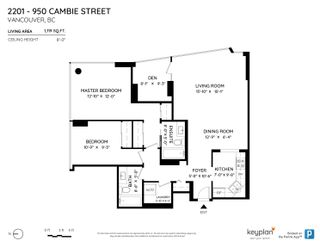 """Photo 24: 2201 950 CAMBIE Street in Vancouver: Yaletown Condo for sale in """"Pacific Place Landmark 1"""" (Vancouver West)  : MLS®# R2617691"""