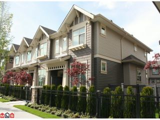 """Photo 1: 61 31125 WESTRIDGE Place in Abbotsford: Abbotsford West Townhouse for sale in """"Kinfield"""" : MLS®# F1210958"""