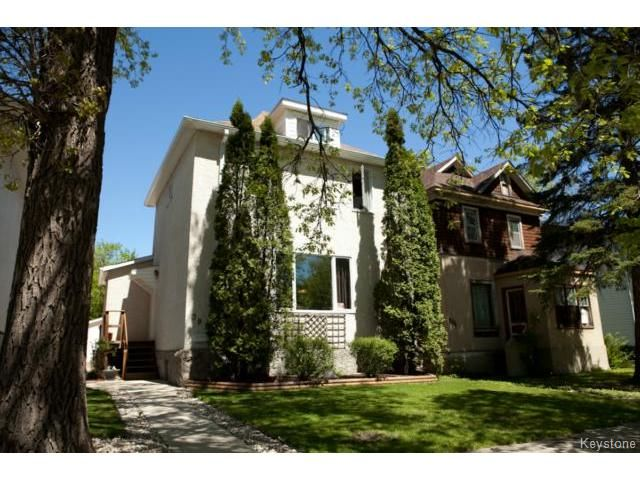 Main Photo: 391 Dubuc Street in WINNIPEG: St Boniface Residential for sale (South East Winnipeg)  : MLS®# 1406279