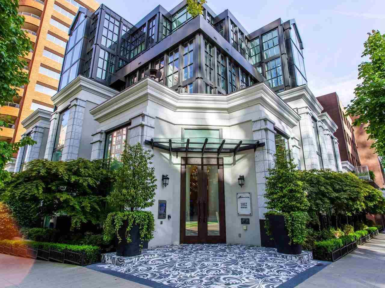 "Main Photo: 1110 HORNBY Street in Vancouver: Downtown VW Townhouse for sale in ""ARTESMIA"" (Vancouver West)  : MLS®# R2575042"