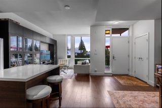 """Photo 1: 104 1550 FERN Street in North Vancouver: Lynnmour Townhouse for sale in """"BEACON"""" : MLS®# R2534804"""