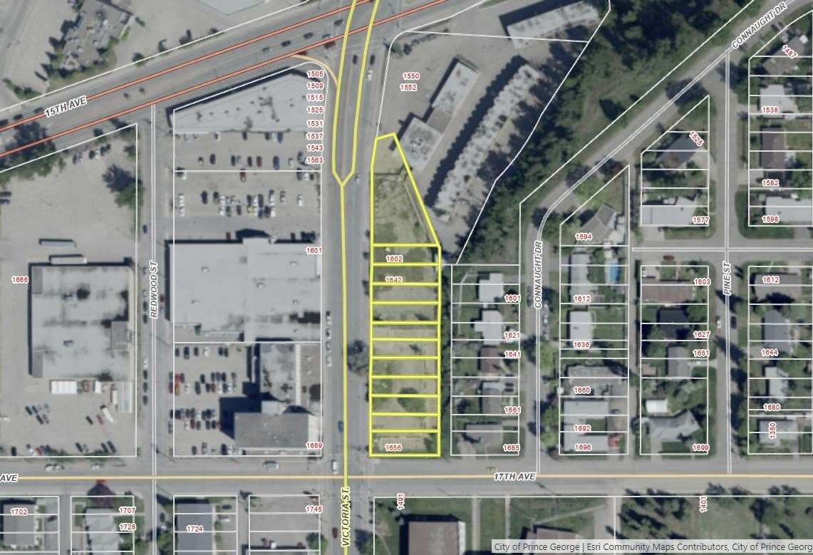 Main Photo: 1602 1656 VICTORIA Street in Prince George: Connaught Land Commercial for sale (PG City Central (Zone 72))  : MLS®# C8036369