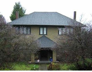 Photo 1: 2111 W 34TH AV in Vancouver: Quilchena House for sale (Vancouver West)  : MLS®# V578567
