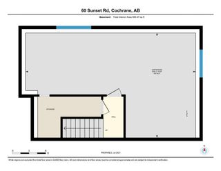 Photo 37: 60 Sunset Road: Cochrane Row/Townhouse for sale : MLS®# A1128537