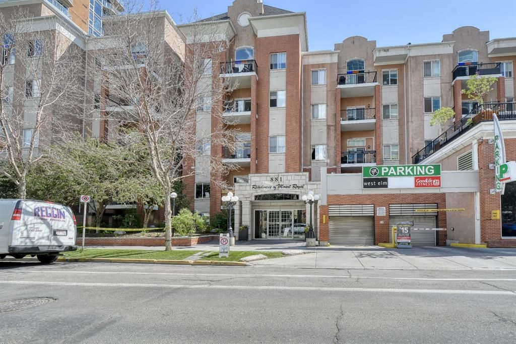 Main Photo: 102 881 15 Avenue SW in Calgary: Beltline Apartment for sale : MLS®# A1120735