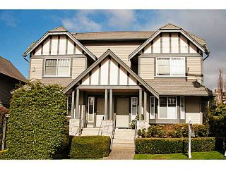 """Photo 1: 657 ST ANDREWS Avenue in North Vancouver: Lower Lonsdale Townhouse for sale in """"CHARLTON COURT"""" : MLS®# V1066090"""