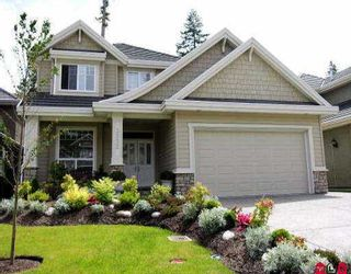 """Photo 1: 3592 150A ST in Surrey: Morgan Creek House for sale in """"West Rosemary"""" (South Surrey White Rock)  : MLS®# F2611587"""
