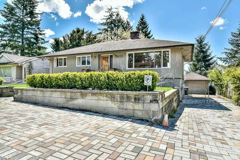 Main Photo: 13668 LARNER Road in Surrey: Bolivar Heights House for sale (North Surrey)  : MLS®# R2157375