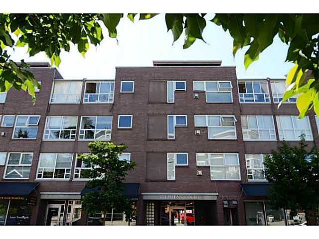 "Main Photo: 304 2025 STEPHENS Street in Vancouver: Kitsilano Condo for sale in ""STEPHEN'S COURT"" (Vancouver West)  : MLS®# V1069084"