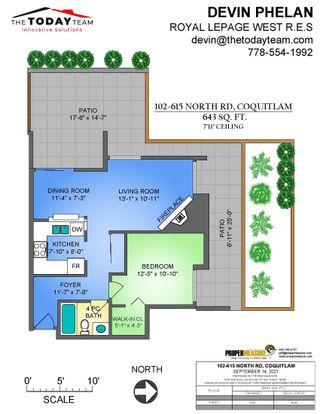 Photo 35: 102 615 NORTH Road in Coquitlam: Coquitlam West Condo for sale : MLS®# R2620665