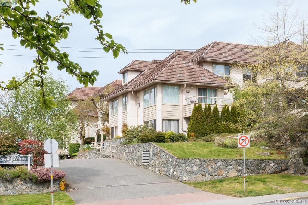 Photo 1: Photos: 306 3400 Quadra St in VICTORIA: SE Quadra Condo for sale (Saanich East)  : MLS®# 784665
