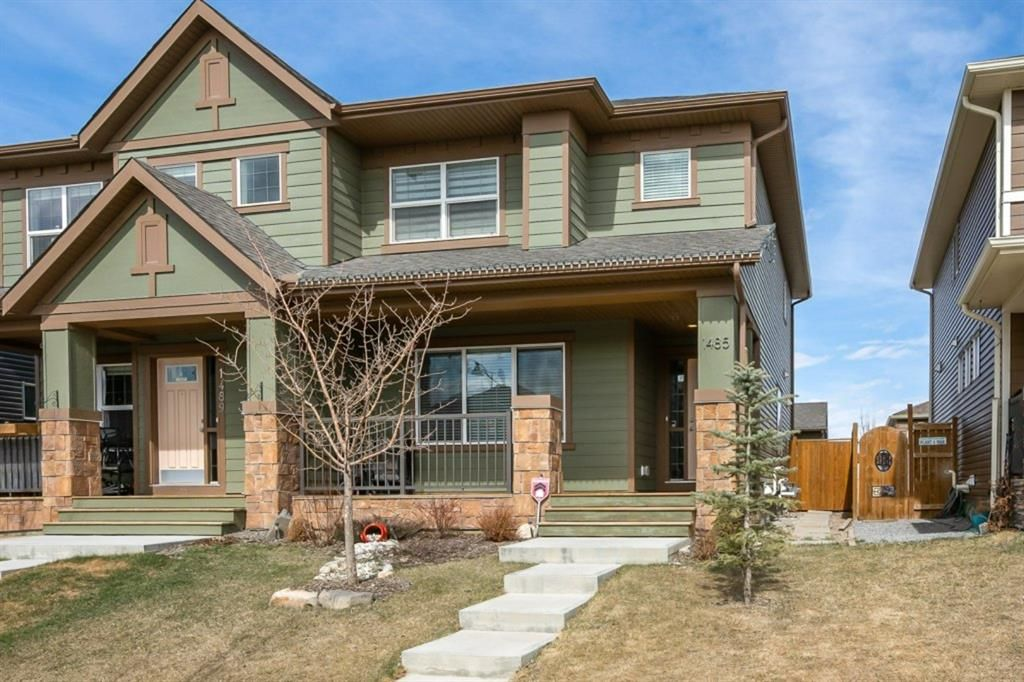 Main Photo: 1485 Legacy Circle SE in Calgary: Legacy Semi Detached for sale : MLS®# A1091996