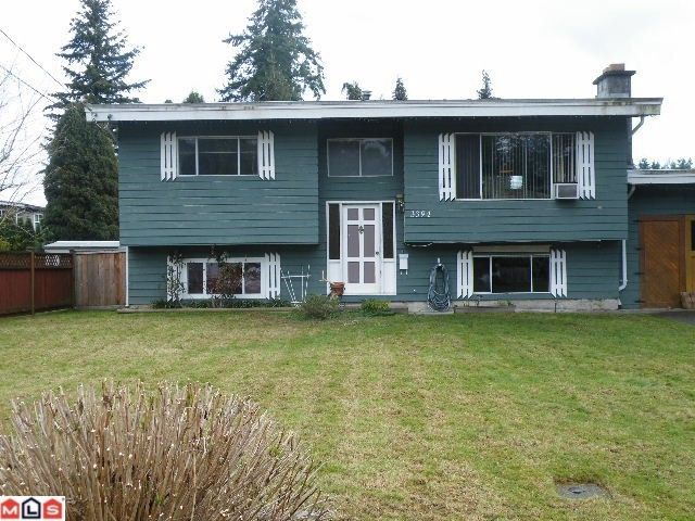 Main Photo: 3394 HENDON Street in Abbotsford: Abbotsford East House for sale : MLS®# F1006701