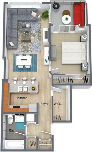 "Photo 1: 2501 110 BREW Street in Port Moody: Port Moody Centre Condo for sale in ""ARIA 1 @ Suter Brook Village"" : MLS®# R2402621"