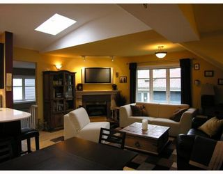 Photo 2: 3018 COLUMBIA Street in Vancouver: Mount Pleasant VW Townhouse for sale (Vancouver West)  : MLS®# V682762