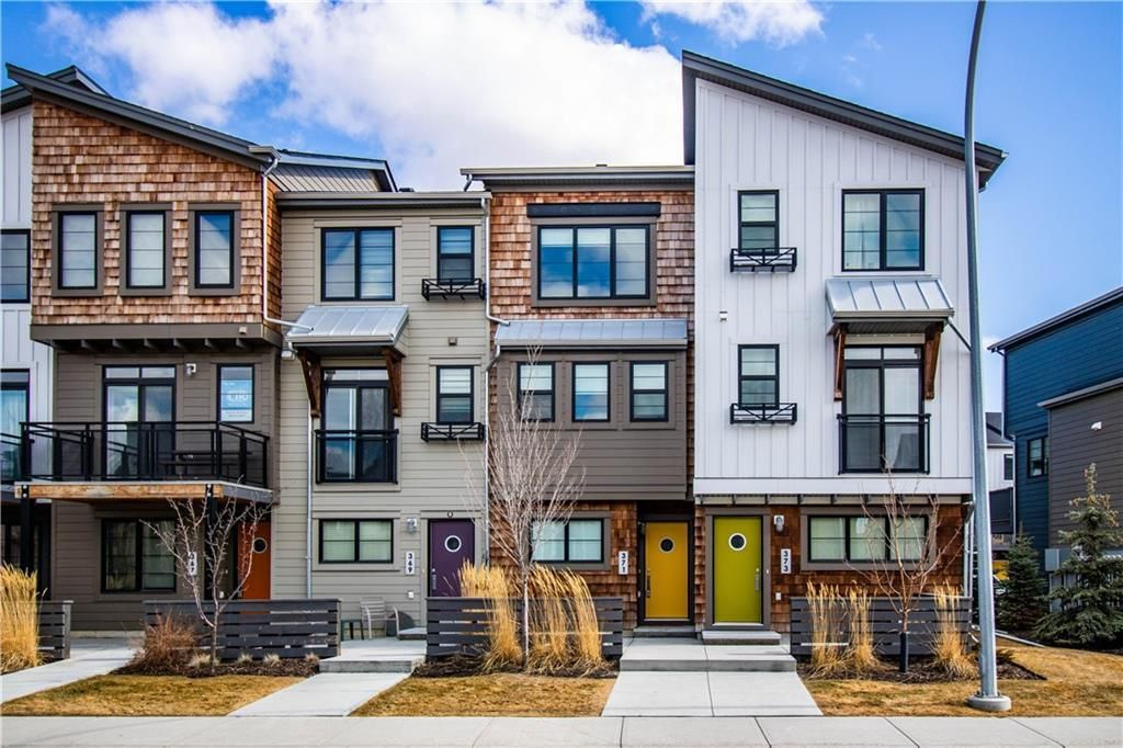 Main Photo: 371 WALDEN Drive SE in Calgary: Walden Row/Townhouse for sale : MLS®# A1081750