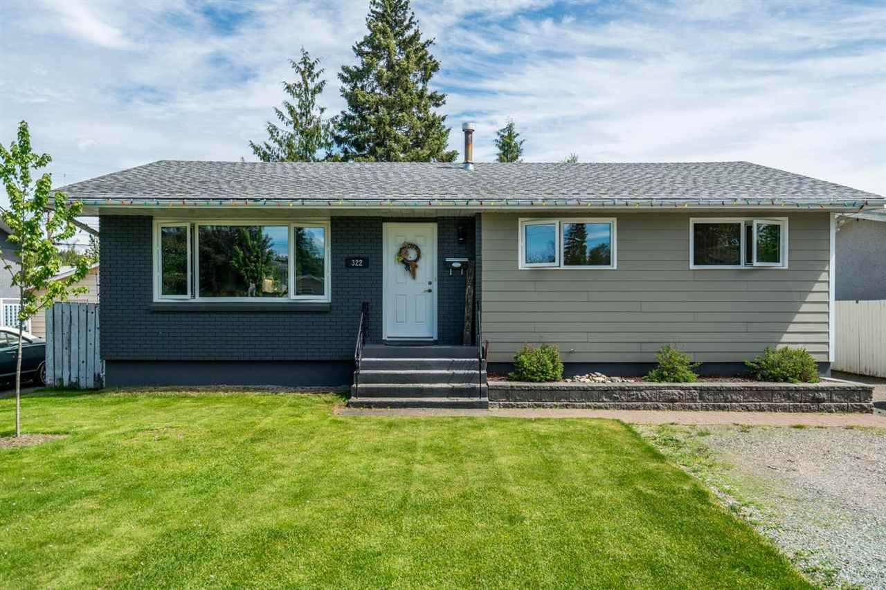 """Main Photo: 322 N PATTERSON Street in Prince George: Quinson House for sale in """"Quinson"""" (PG City West (Zone 71))  : MLS®# R2587998"""