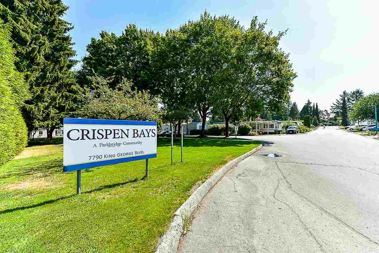 """Photo 24: Photos: 49 7790 KING GEORGE Boulevard in Surrey: East Newton Manufactured Home for sale in """"CRISPEN BAYS"""" : MLS®# R2493696"""