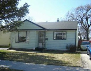 Photo 1: 754 PARKHILL Street in WINNIPEG: Westwood / Crestview Residential for sale (West Winnipeg)  : MLS®# 2504960