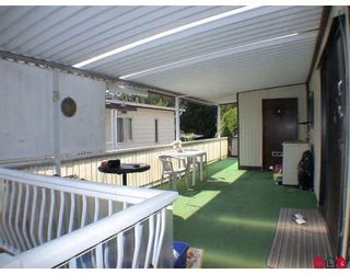 """Photo 9: 159 3665 244TH Street in Langley: Otter District Manufactured Home for sale in """"LANGLEY GROVE ESTATES"""" : MLS®# F2928075"""