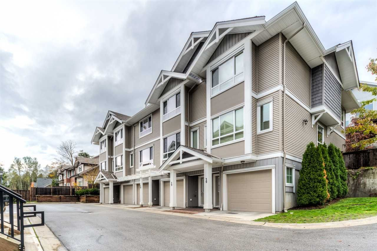 Main Photo: 18 20195 68 AVENUE in : Willoughby Heights Townhouse for sale : MLS®# R2012586