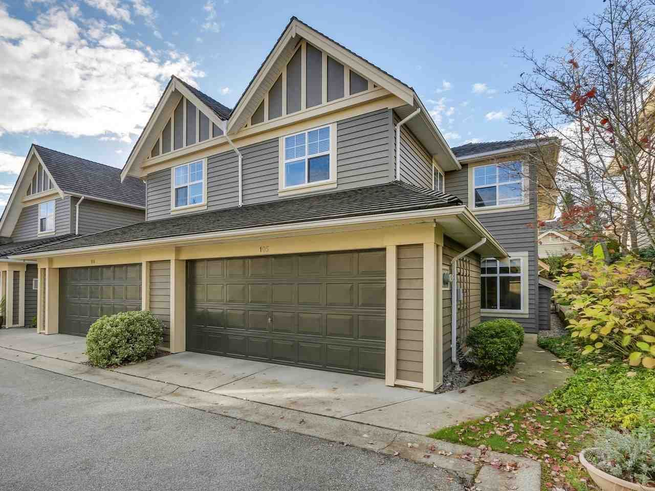 """Main Photo: 105 15500 ROSEMARY HEIGHTS Crescent in Surrey: Morgan Creek Townhouse for sale in """"Carrington"""" (South Surrey White Rock)  : MLS®# R2354811"""