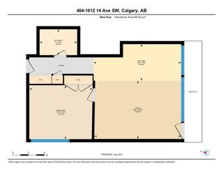 Photo 21: 404 1612 14 Avenue SW in Calgary: Sunalta Apartment for sale : MLS®# A1147543