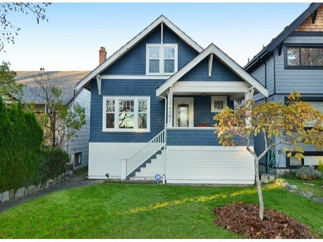 """Main Photo: 561 W 20TH Avenue in Vancouver: Cambie House for sale in """"DOUGLAS PARK"""" (Vancouver West)  : MLS®# V1093678"""