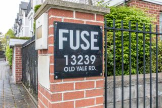 """Photo 1: 41 13239 OLD YALE Road in Surrey: Whalley Townhouse for sale in """"FUSE"""" (North Surrey)  : MLS®# R2577312"""