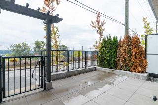 "Photo 25: 102 217 CLARKSON Street in New Westminster: Downtown NW Townhouse for sale in ""Irving Living"" : MLS®# R2545622"