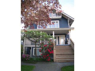 Photo 1: 326 W 11TH Avenue in Vancouver: Mount Pleasant VW Townhouse for sale (Vancouver West)  : MLS®# V826863
