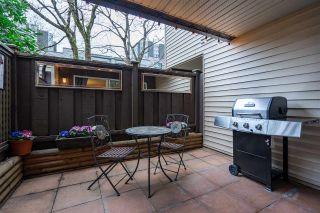 """Photo 1: 103 1429 E 4TH Avenue in Vancouver: Grandview Woodland Condo for sale in """"Sandcastle Villa"""" (Vancouver East)  : MLS®# R2547541"""