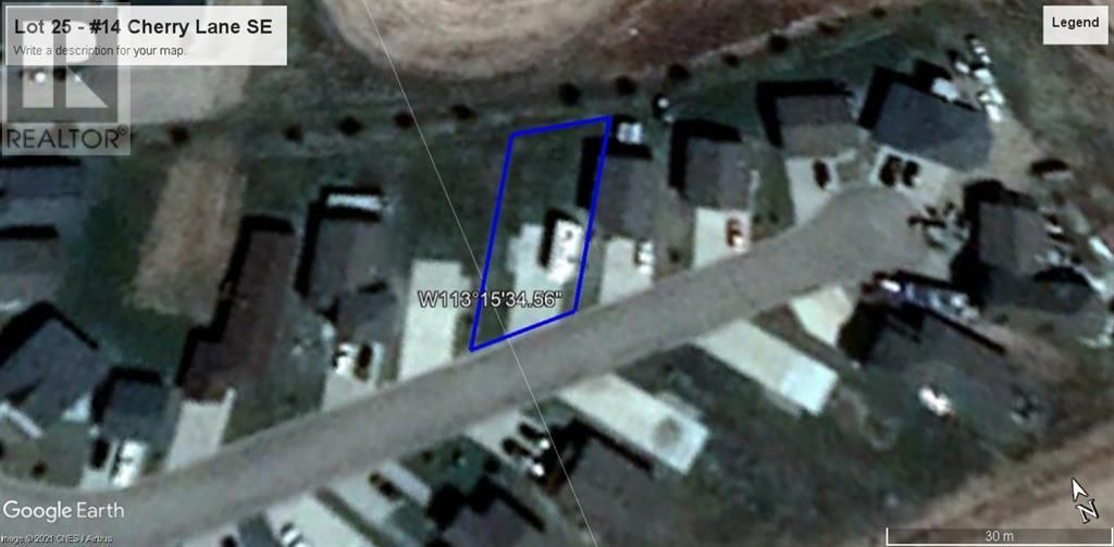 Main Photo: 14 Cherry LANE in Three Hills: Vacant Land for sale : MLS®# A1132509