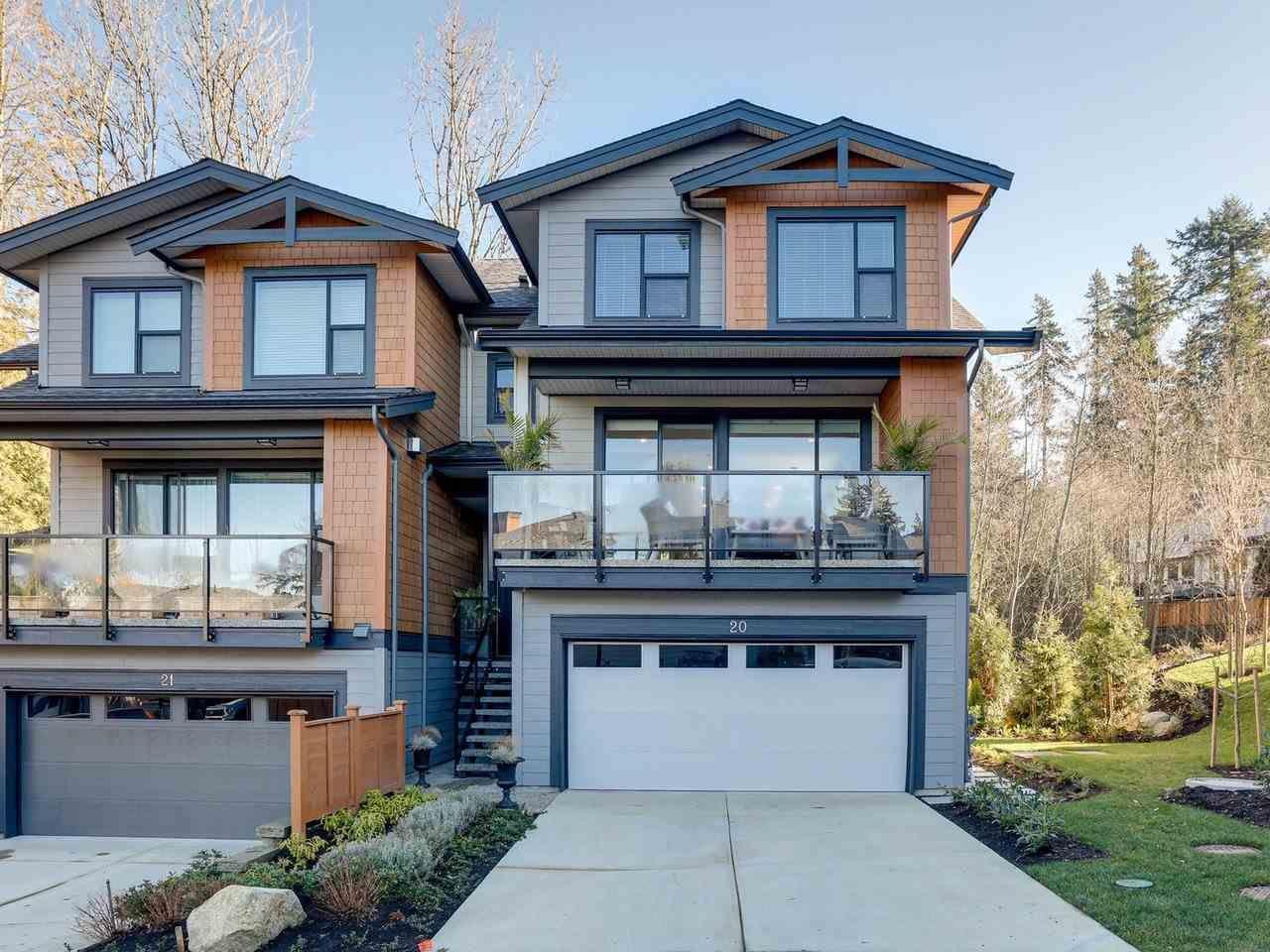 "Main Photo: 20 3618 150 Street in Surrey: Morgan Creek Townhouse for sale in ""VIRIDIAN"" (South Surrey White Rock)  : MLS®# R2431813"