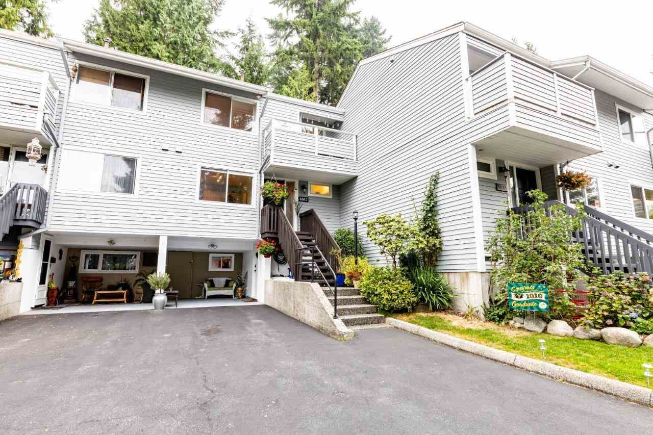 Main Photo: 4683 Hoskins Rd in North Vancouver: Lynn Valley Townhouse for sale : MLS®# R2500187