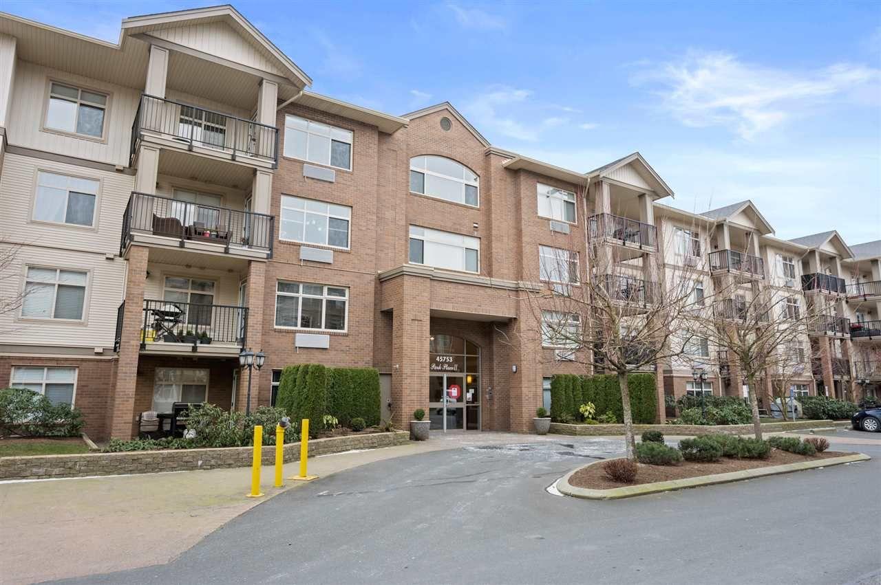 Main Photo: 305 45753 STEVENSON Road in Chilliwack: Sardis East Vedder Rd Condo for sale (Sardis)  : MLS®# R2539144