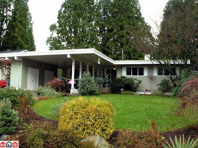 Main Photo: 33427 Lynn Avenue in Abbotsford: House  : MLS®# f1028996